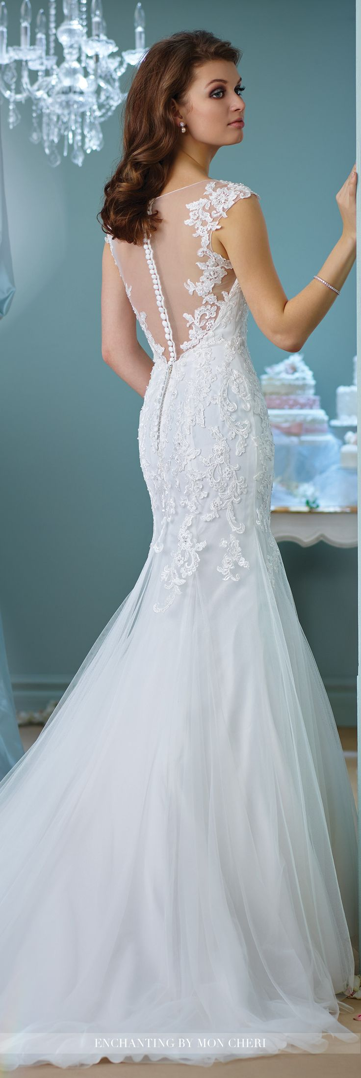 trumpet wedding dresses lace cap sleeve wedding dress 216156 enchanting by mon 8092
