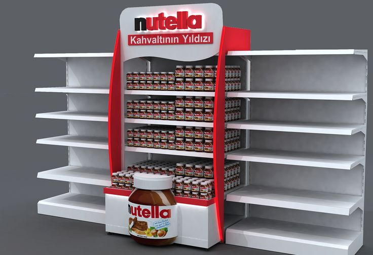 Ozan Bolcan  Kinder Nutella Stand & Display Design