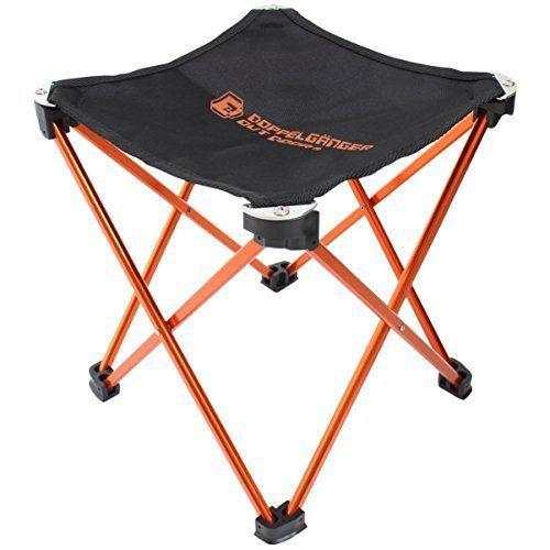 Doppelganger Outdoor Folding Aluminum Frame Ultra Light Chair C1