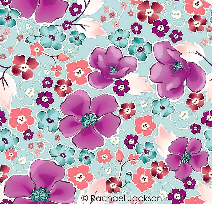All-Over Pattern | Digital Textile Design and Printing ...