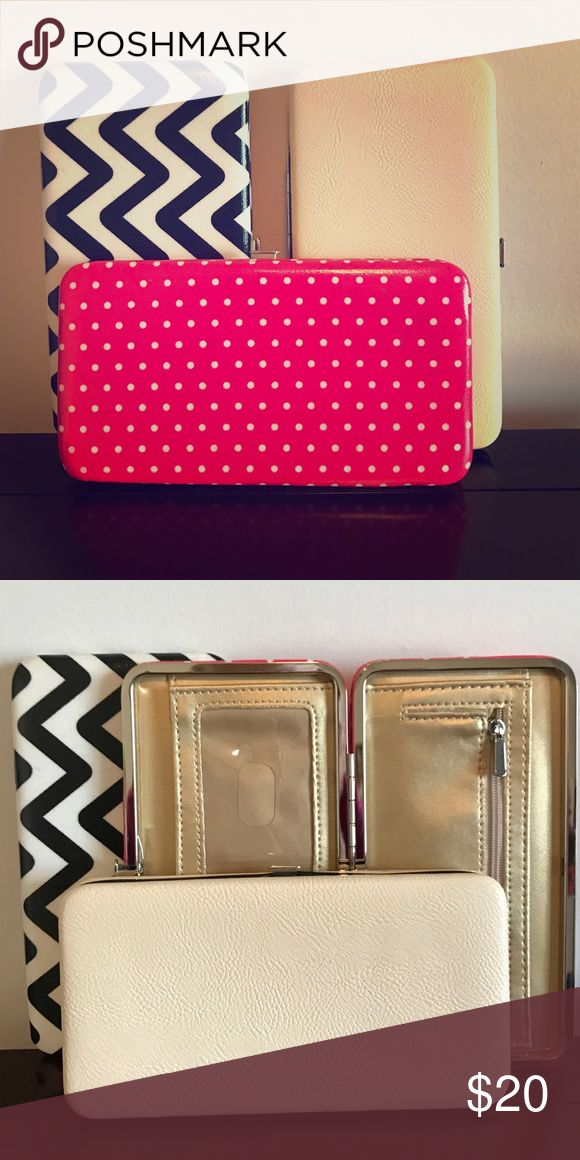 3 Skinny Wallets All three NEW from Target!  You can have all three for $20! merona Bags Wallets