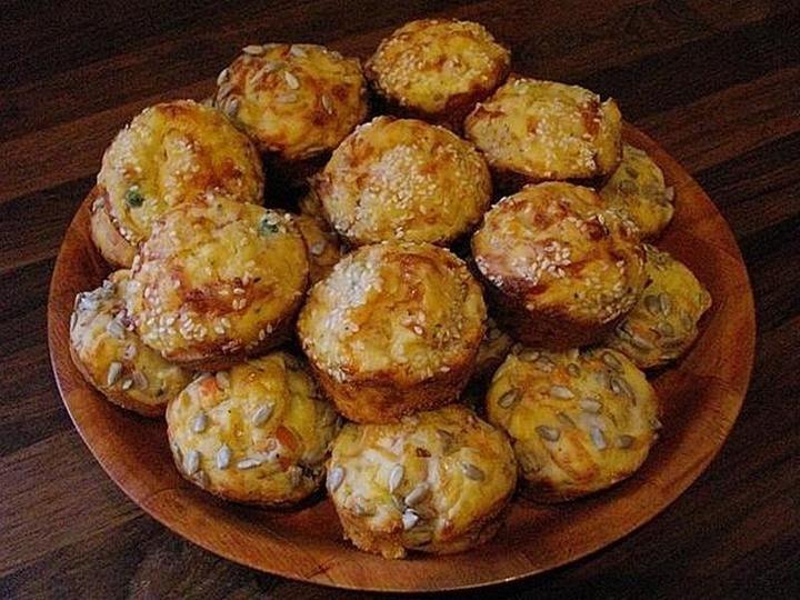 slané syrové muffiny