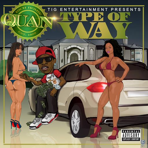 ▶ Rich Homie Quan - Type of Way - YouTube It's been on my running mix long enough to get on my pinterest shortlist