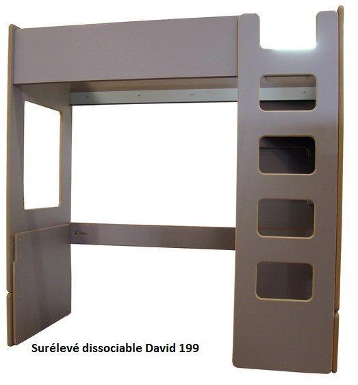 Lit Enfant Sur Lev David Mathy By Bols Fabrication Artisanale Belge Lit Mezzanine 90 X 190 Ou