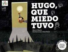 Hugo tiene una gran colección de miedos. Lo que él no sabe es que las historias de fantasmas, brujas, gigantes y lobos le ayudarán a sobreponerse a las noches más oscuras desde su cama. El cuento incluye un  DVD con la interpretación del cuento en lenguaje de signos, las voces en off y las ilustraciones animadas.  Búscalo en, http://absys.asturias.es/cgi-abnet_Bast/abnetop?ACC=DOSEARCH&xsqf01=hugo+miedo+merce+ubach