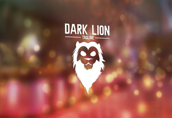 Dark Lion Logo Design by Florin Chitic on Creative Market