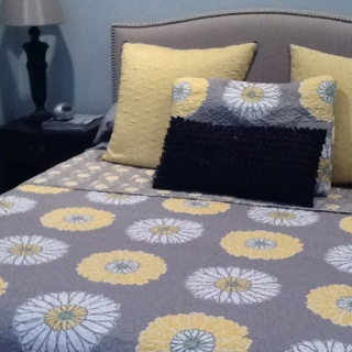New bedding from TJ Max!  I love that place!