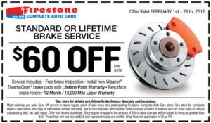 B Free Service Coupons B Front Side Or Back Brake Cushion