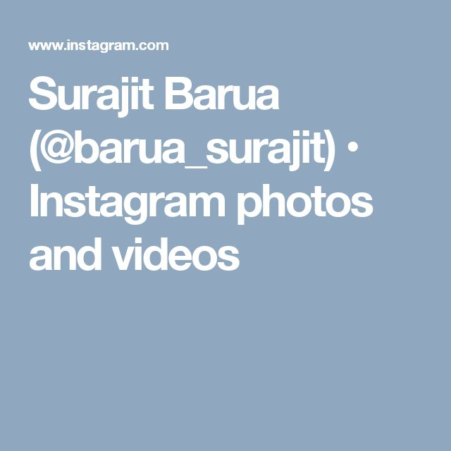Surajit Barua (@barua_surajit) • Instagram photos and videos