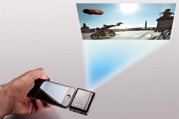 Mobile Cinema Projector #Apple #iPhone