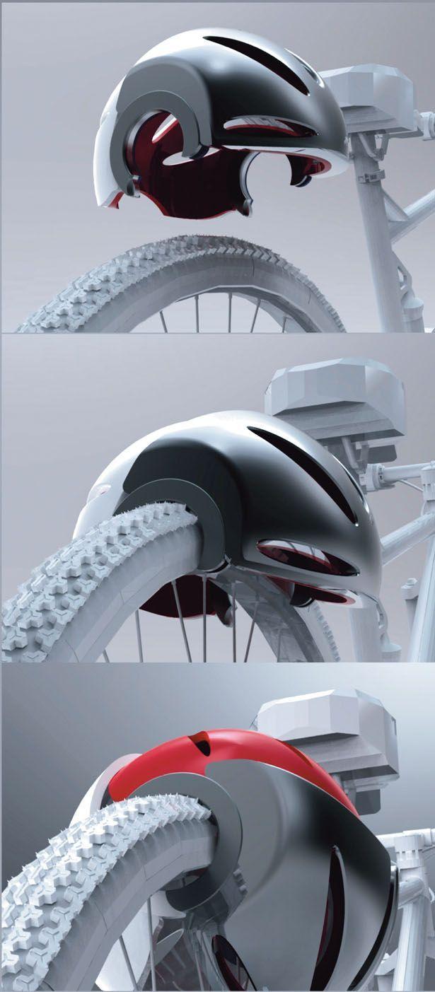 Le casque Head-Lock protège votre tête comme votre vélo