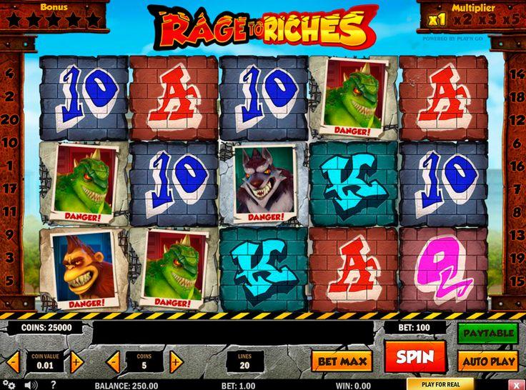Traue dich neuen Rage of Ruches Spielautomat von PlaynGO zu spielen! Erhöhe deine Gewinnchacen und habe viel Glück!