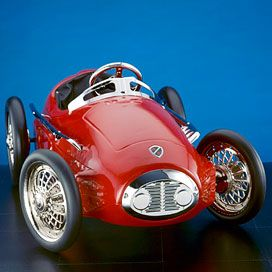 red pedal race car