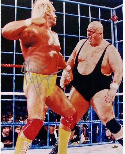 Hulk Hogan With King Kong Bundy 16x20 Photo