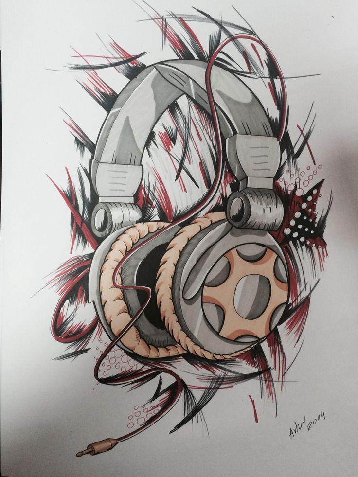 Headphones Artur Sikorski