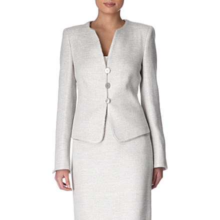 Sparkle tweed jacket - ARMANI COLLEZIONI: Sparkle Tweed, Armani Collections, Tweed Jackets, Wear Wardrobe, Work Wear