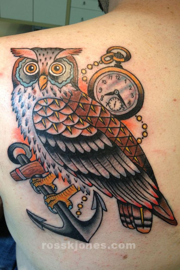 1000+ ideas about Traditional Owl Tattoos on Pinterest ...