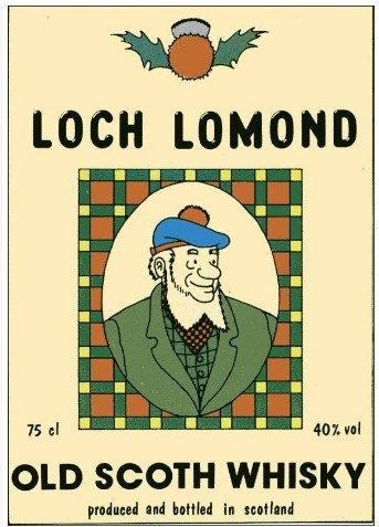 Loch Lomond - old scoth whisky