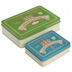 Gentleman Tins - Set of 2 | Paper Products Online