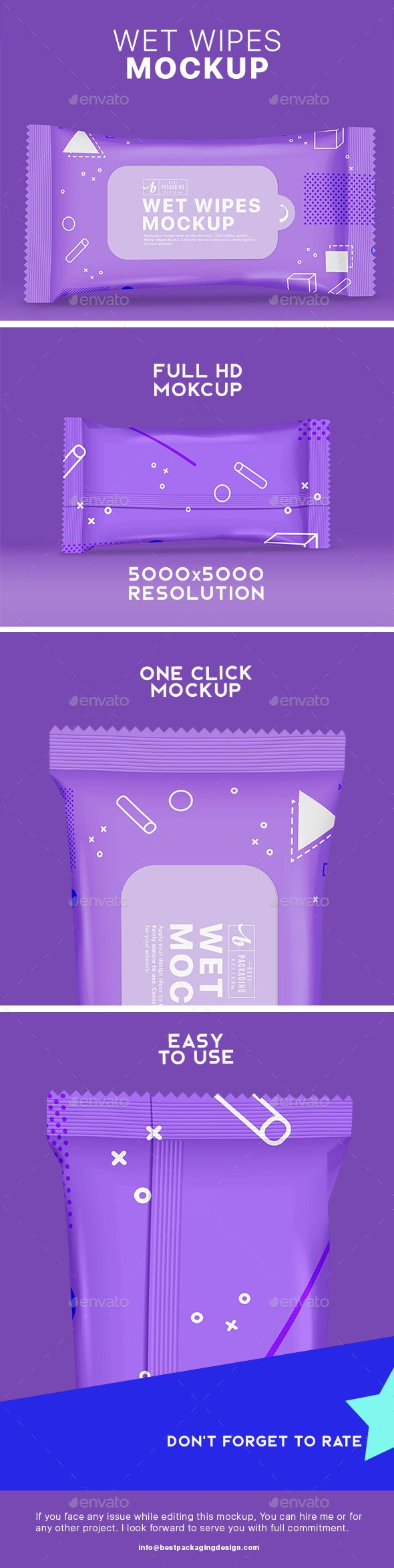 Wet Wipes Mock-Up - #Product #Mock-Ups Graphics