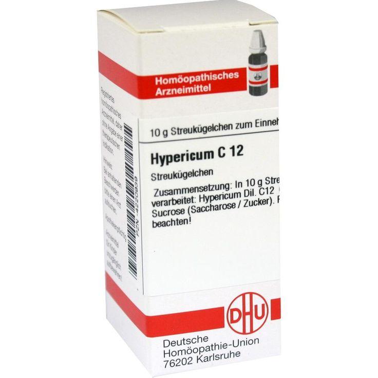 HYPERICUM C 12 Globuli:   Packungsinhalt: 10 g Globuli PZN: 04220939 Hersteller: DHU-Arzneimittel GmbH & Co. KG Preis: 5,50 EUR inkl. 19…