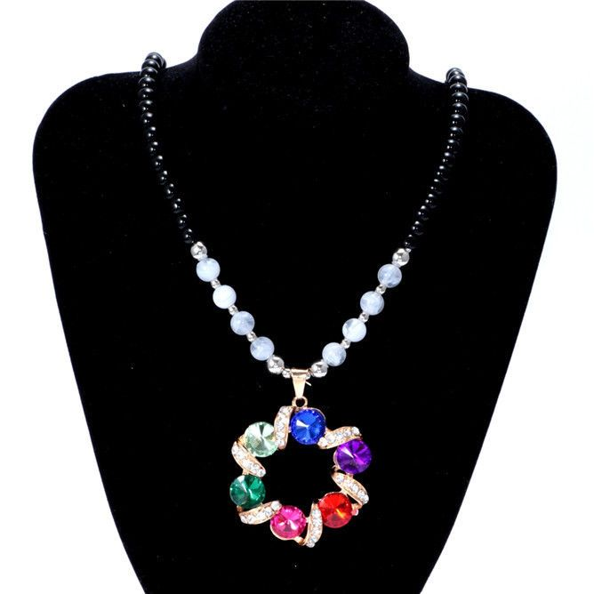 Womens Vintage Fashion Jewelry Hot Charm Crystal Pendant Necklace NEW C3 - https://barskydiamonds.com/necklaces/