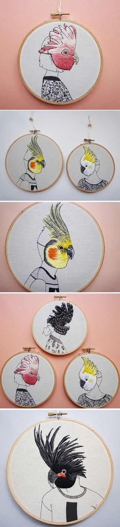 Embroidery by Amy Jones / on the Blog!