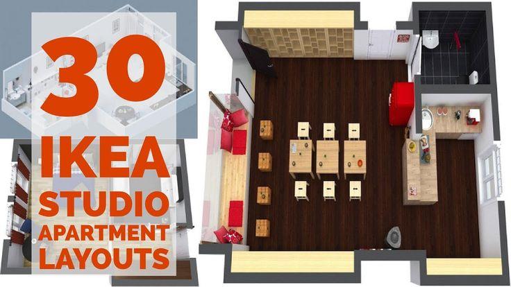 best 25 ikea studio apartment ideas on pinterest studio apartments studio layout and. Black Bedroom Furniture Sets. Home Design Ideas
