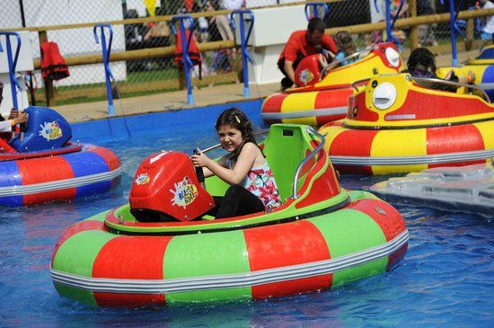 Fun and frolicks at Adventure Wonderland - remember to take the kid's swimmers (and a dry change of clothes!)