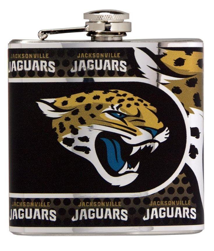 Jacksonville Jaguars Flask Stainless Steel Drink Bottle