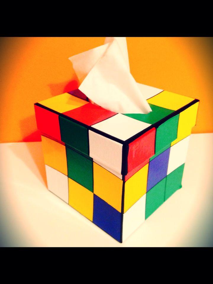 Rubik's cube for Kleenex