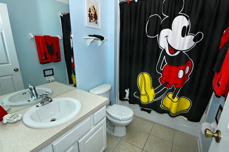 17 best images about disney bathroom ideas on pinterest for Mickey mouse bathroom ideas