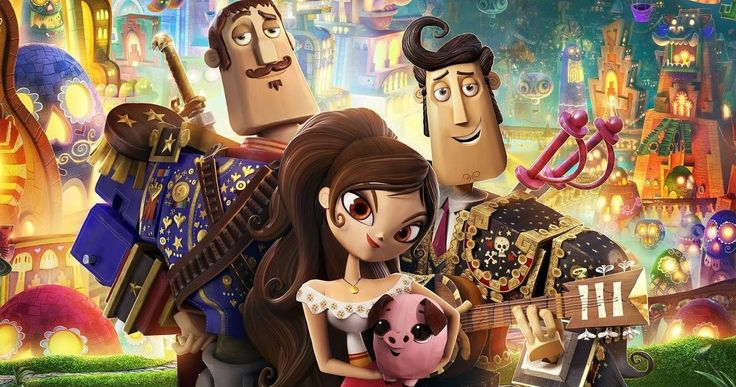 Guillermo Del Toro's Animated 'The Book of Life' Trailer -- Producer Guillermo del Toro and director Jorge Gutierrez bring the journey of a young man at a crossroads to vivid life in a new animated adventure. -- http://www.movieweb.com/news/guillermo-del-toros-animated-the-book-of-life-trailer