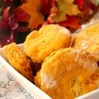 1-point pumpkin biscuits