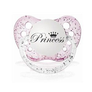 Personalized Baby Girl Princess Pacifier