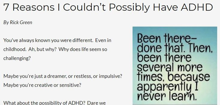 5 out of 6 adults who qualify as ADHD have not been diagnosed! - TotallyADD
