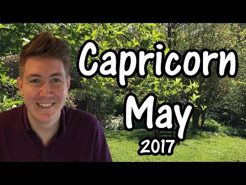 CAPRICORN HOROSCOPE FOR MAY 2017!! This free horoscope applies to the star sign Capricorn, born December 22 – January 19, and is aimed at Sun Sign …