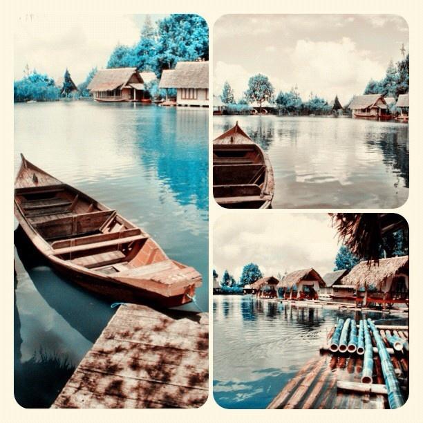 Kampung Sampireun, Garut, West Java. @kenyokania-#statigram