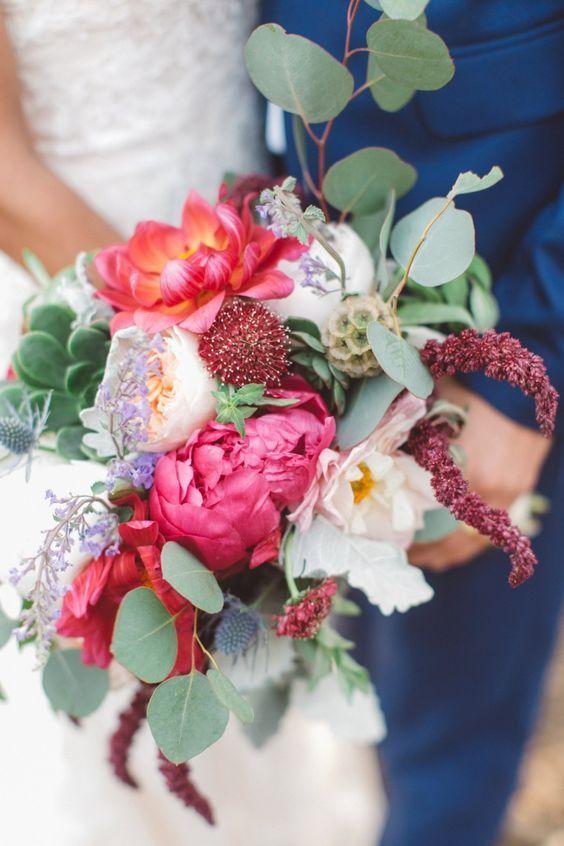 Hochzeitsstrauß Idee; Vorgestellter Fotograf: Anna Delores Photography   – Wedding Decor