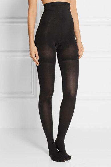 Spanx - Luxe Leg High-rise 60 Denier Shaping Tights - Black -
