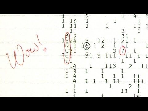 """Alien Contact - """"The Wow Signal"""" - Space Signal Received by SETI"""