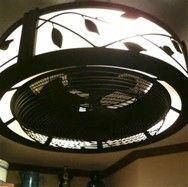 Unique Ceiling Fans For Kitchen #7 Kitchen Ceiling Fan