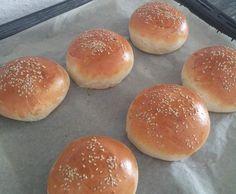 Rezept Buns für Hamburger oder Pulled Pork von Wanstebude - Rezept der Kategorie Brot & Brötchen