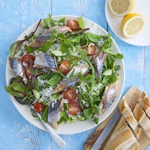Recept - Rijstsalade met makreel - Allerhande