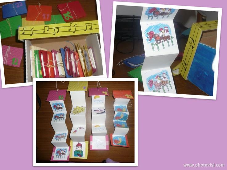 Cançoner infantil amb pictogrames