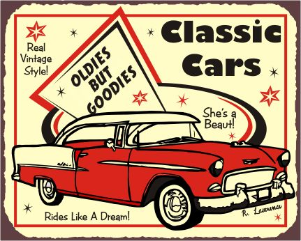 48 Best Car Signs Images On Pinterest Car Signs Retro Vintage