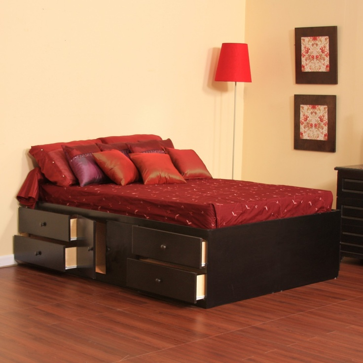 17 best images about storage beds on pinterest underbed - Best platform beds with storage ...