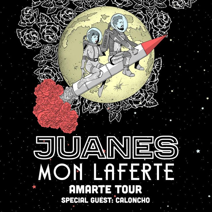 Juanes is heading out on the Amarte Tour with Mon Laferte! Get more info here.