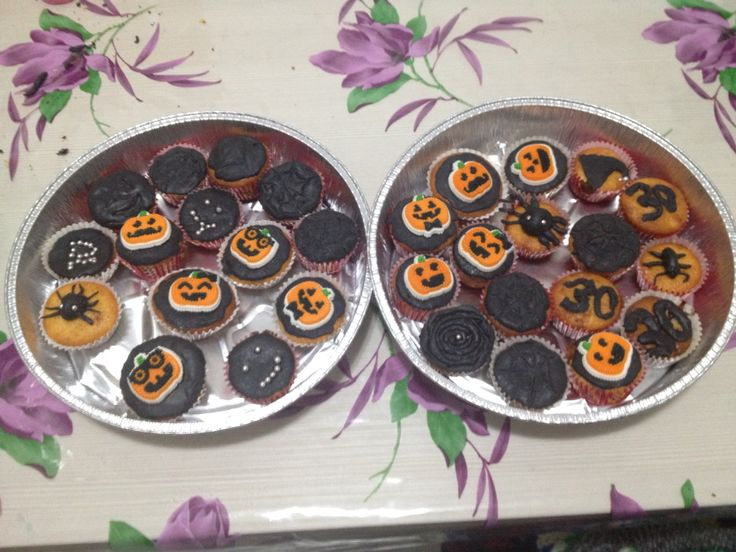 Cup cakes di halloween