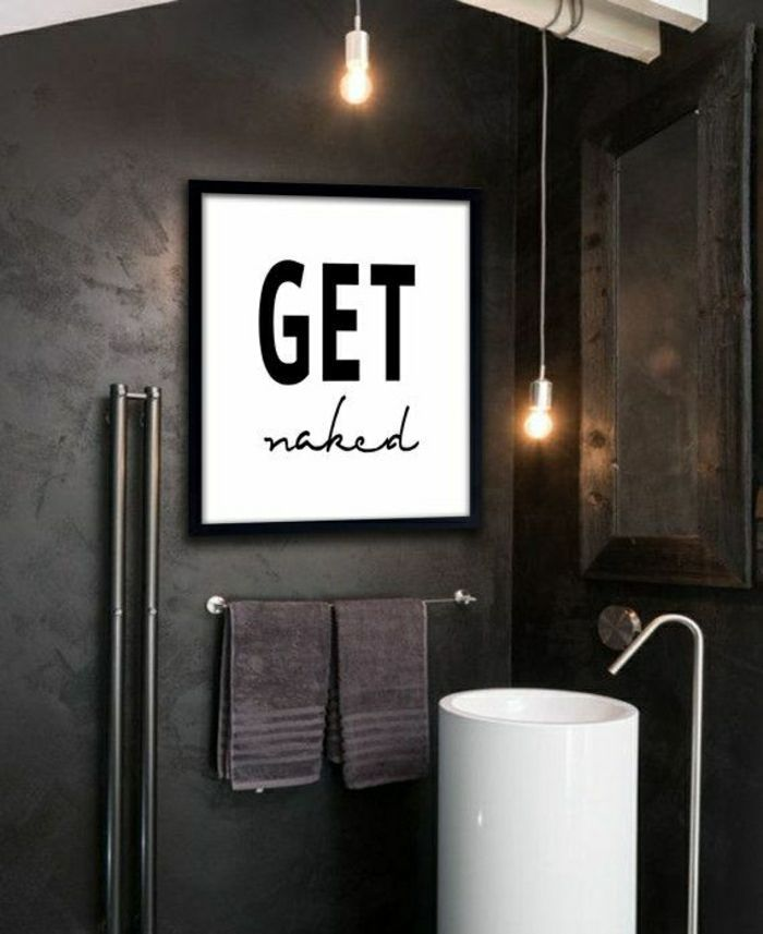 40 Erstaunliche Badezimmer Deko Ideen 2019 Badezimmer Deko Ideen Cooler Anspruch Wandbild Schwarze W Bathroom Art Printables Bathroom Art Bathroom Art Prints